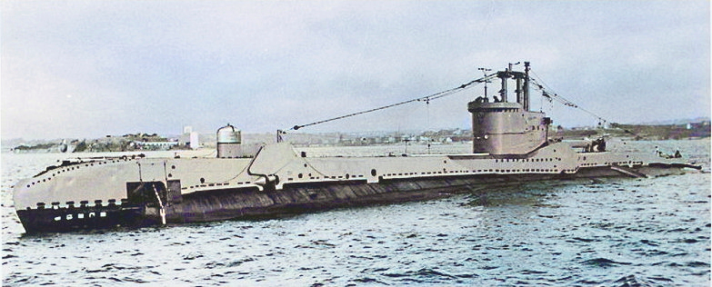 HMS Sidon in 1952 following modernisation. Snort fitted & gun removed along with gun tower. Modern ASDIC dome