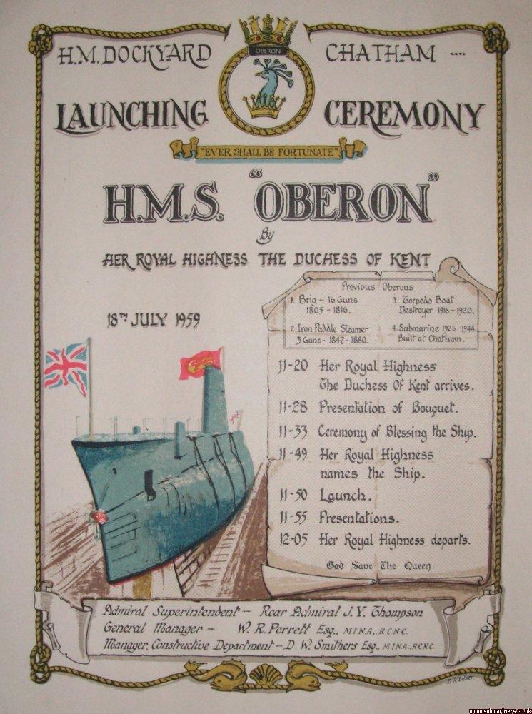 Oberon launch programme