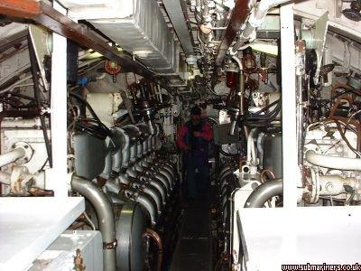 Ocelot engine room