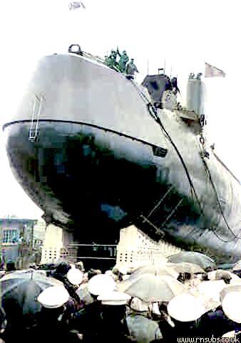 Warspite launch