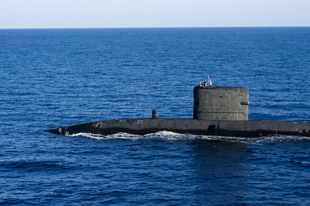 Talent during anti-submarine exercise in the Med, October 2013.